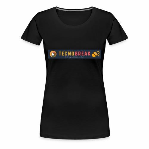 TecnoBreak Líderes en Tecnología - Camiseta premium mujer