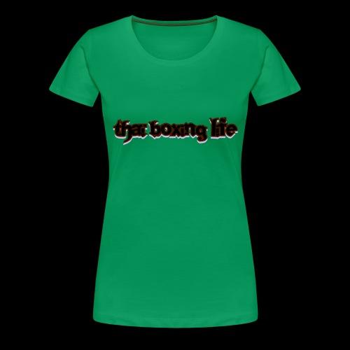 MTS92 THAI BOXING LIFE - T-shirt Premium Femme
