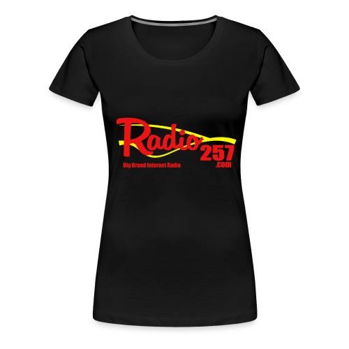 radio257 banner logo web generic - Women's Premium T-Shirt