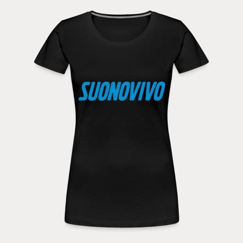 suonovivo_logo solo logo - Maglietta Premium da donna