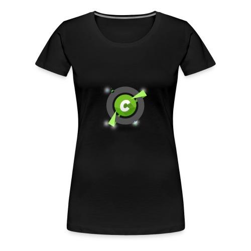 logo becurious png - Maglietta Premium da donna