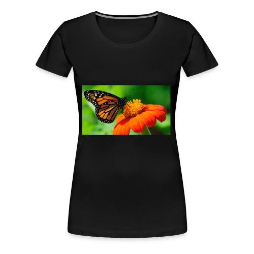 butterfly - Premium T-skjorte for kvinner
