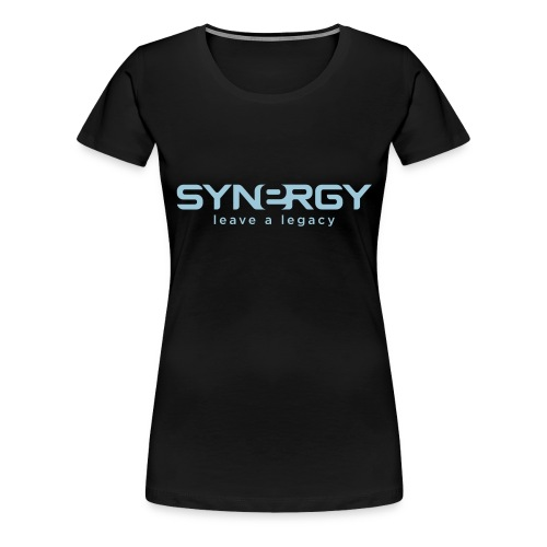 synergylogo cmyk - Women's Premium T-Shirt
