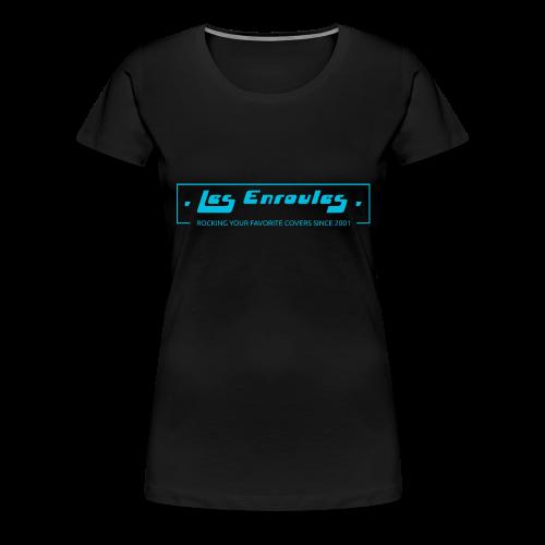 Rocking since 2001 - Blue - T-shirt Premium Femme