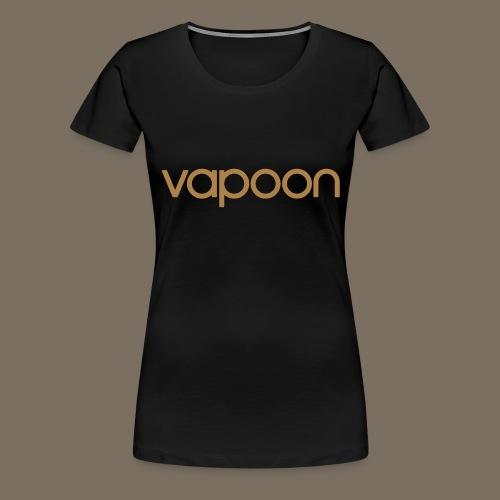 Vapoon Logo simpel 01 - Frauen Premium T-Shirt
