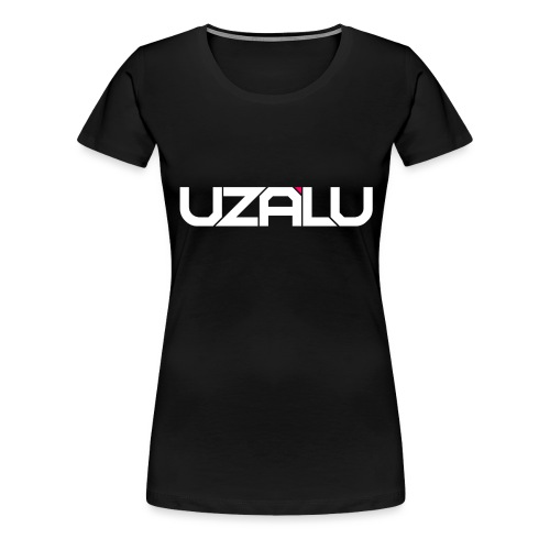 uzalu Text Logo - Women's Premium T-Shirt