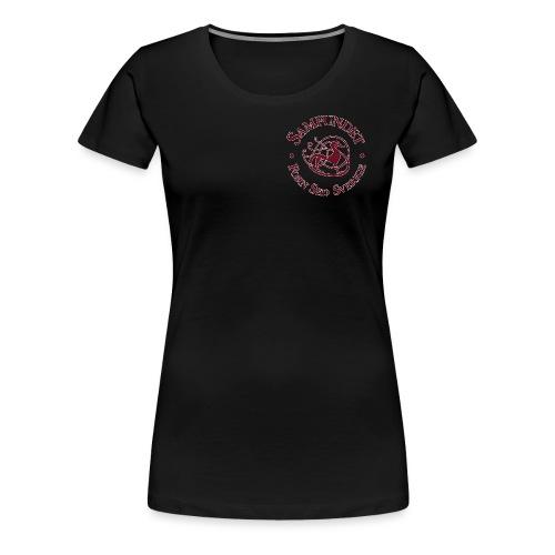 Runhunden rund liten - Premium-T-shirt dam