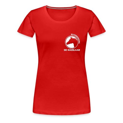 LgHazelaarWhite - Vrouwen Premium T-shirt