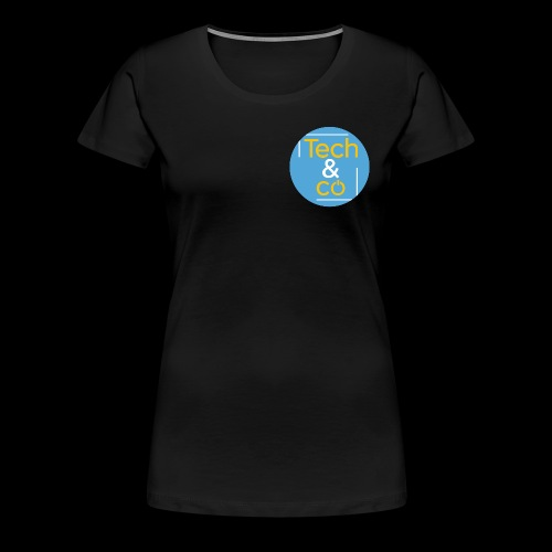 TechAndCo - T-shirt Premium Femme