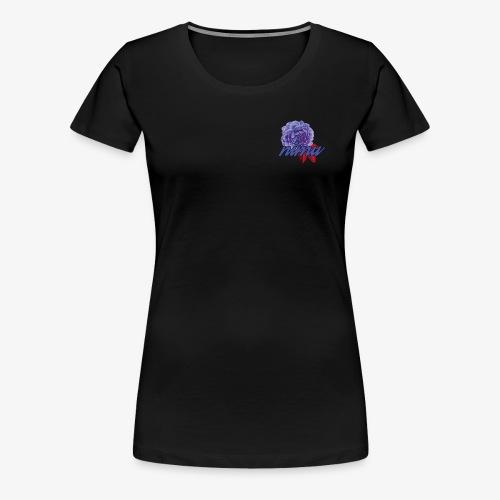 Roos NiMu (Paars) - Vrouwen Premium T-shirt