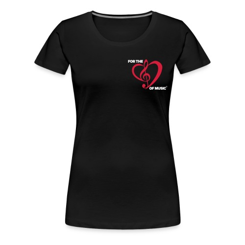 FTLOM original emblem (downsized) - Women's Premium T-Shirt