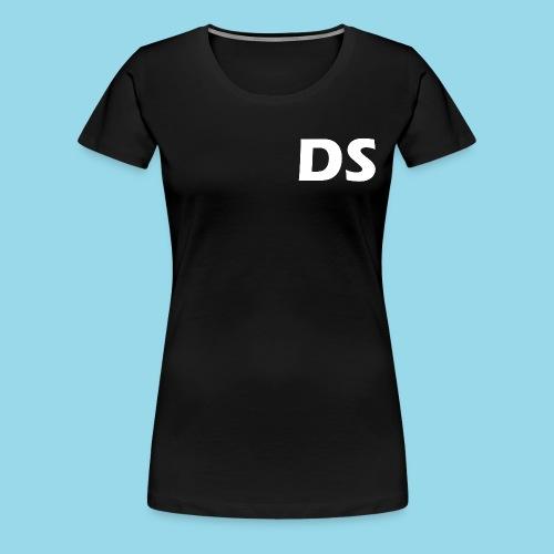 Drone Spotters logo wit - Vrouwen Premium T-shirt
