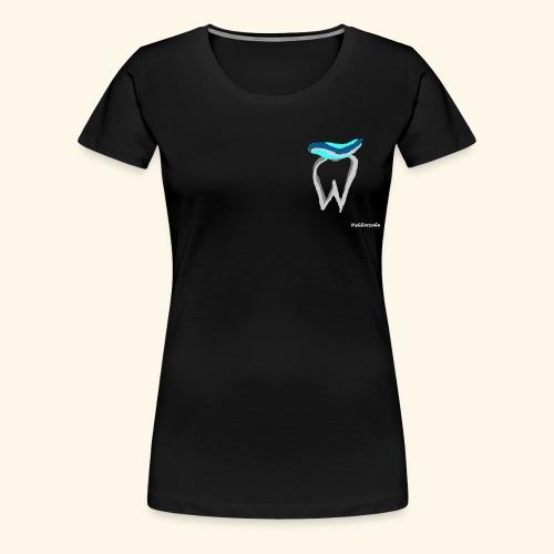 Zahn mit Pasta - Frauen Premium T-Shirt