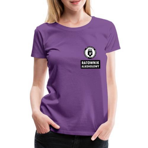 Ratownik alkoholowy - śmieszny prezent na urodziny - Koszulka damska Premium