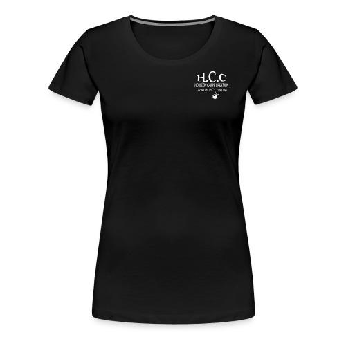 logo hcc - T-shirt Premium Femme