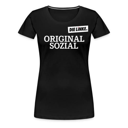 Schriftzug_original - Frauen Premium T-Shirt