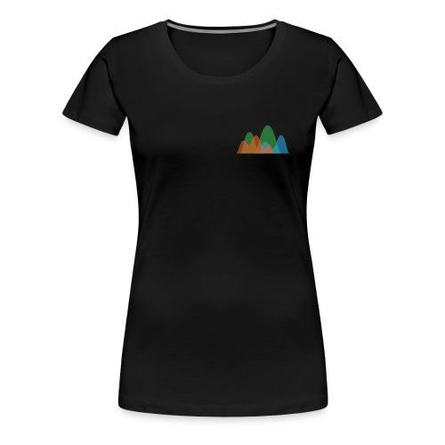 Istogramma Digital Colorist - Maglietta Premium da donna