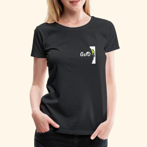 Coming down - Frauen Premium T-Shirt