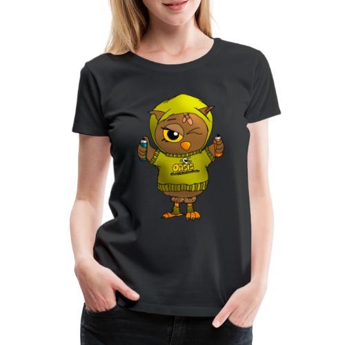 Eule KARL - Eulenclique - Frauen Premium T-Shirt