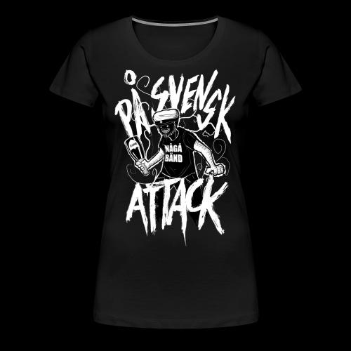 På Svenska Tack - Women's Premium T-Shirt
