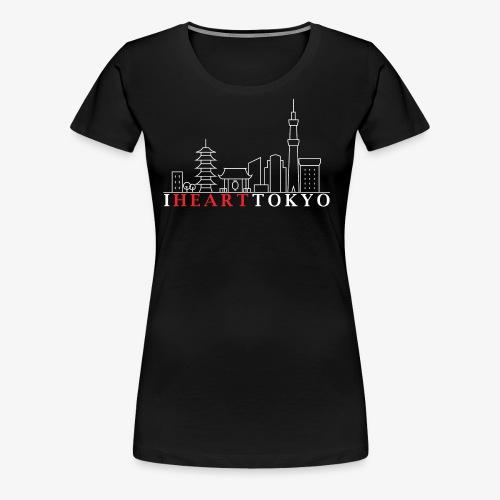 I HEART TOKYO Ver.2 - Women's Premium T-Shirt