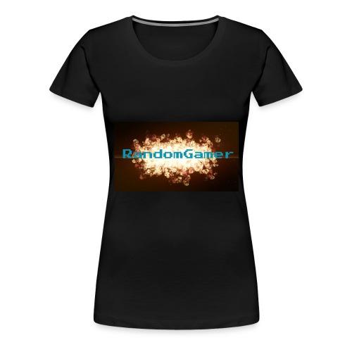 RandomGamer - Premium T-skjorte for kvinner