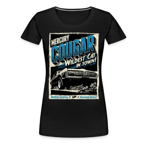 Mercury Cougar 1968 blau - Frauen Premium T-Shirt