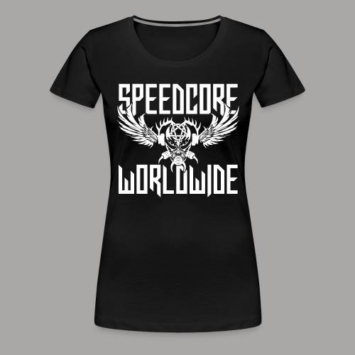 Speedcore Worldwide 2K19 - Frauen Premium T-Shirt