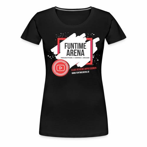 YouTube Fenster - Frauen Premium T-Shirt