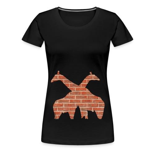 Brick Savannah - Premium-T-shirt dam