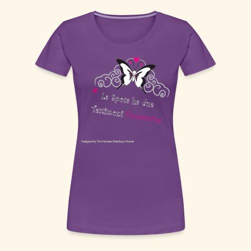 Testimoni Nozze - Maglietta Premium da donna