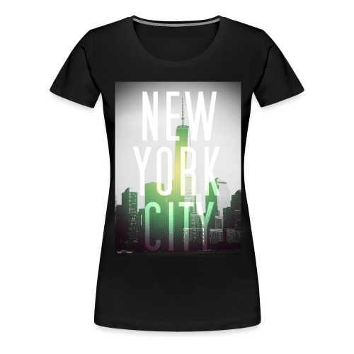 New York Green - Frauen Premium T-Shirt