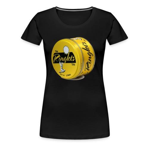 Ringlets Logo Girlie Shirt - Frauen Premium T-Shirt