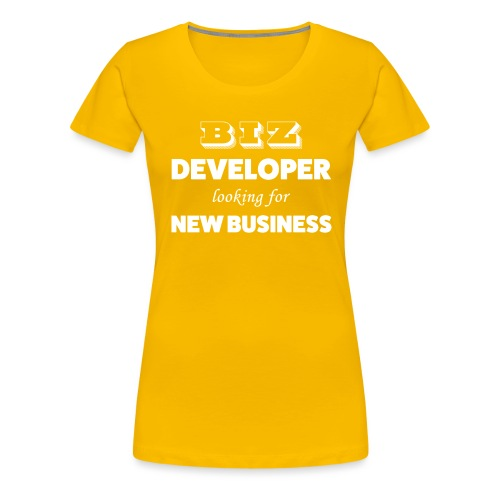 Biz Developer - T-shirt Premium Femme