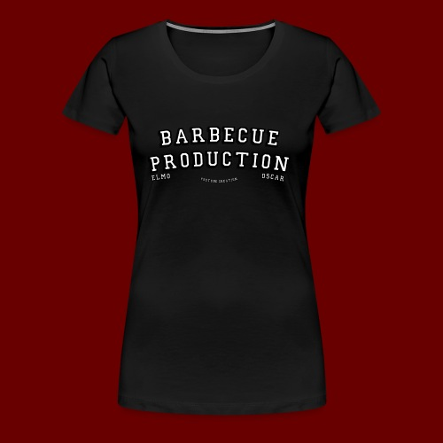 ELMO- BARBECUEPRODUCTION YOUTUBE CRETION - T-shirt Premium Femme