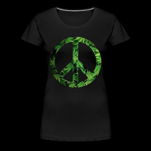 Cannapeace - Women's Premium T-Shirt