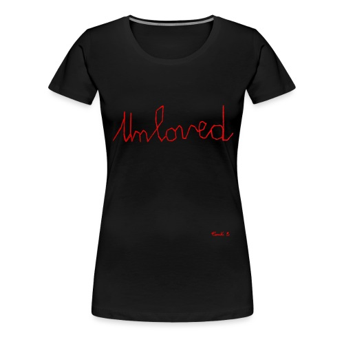 unloved stitch - Women's Premium T-Shirt