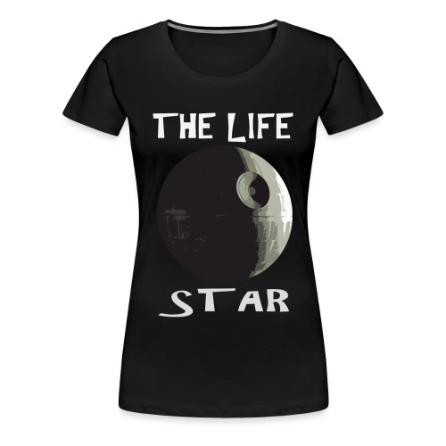 THE LIFE STAR - Vrouwen Premium T-shirt