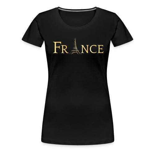 t-shirt paris - T-shirt Premium Femme