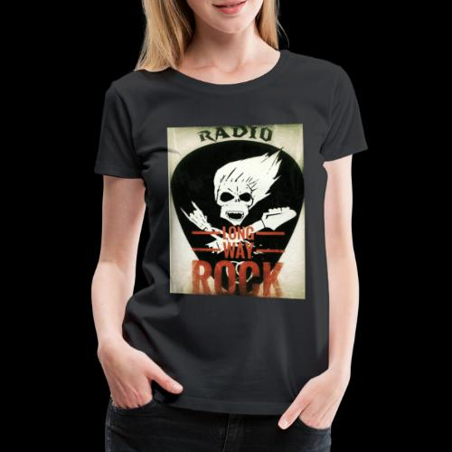 Radio Long Way Rock - T-shirt Premium Femme