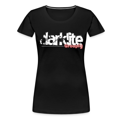 darklite groupig White - Women's Premium T-Shirt