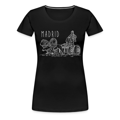 CIBELES BLANCO - Camiseta premium mujer