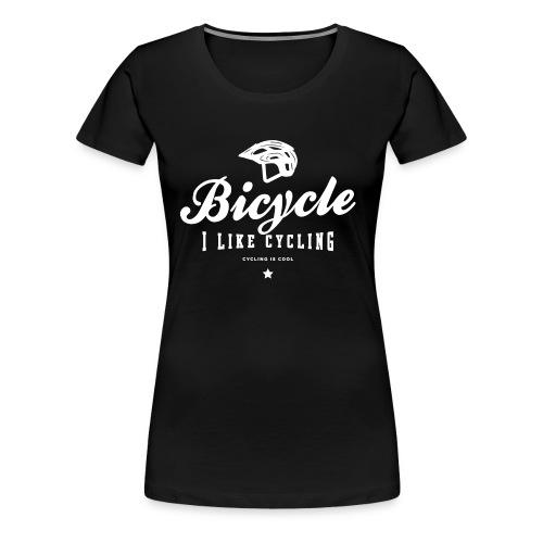 bicycle - Koszulka damska Premium
