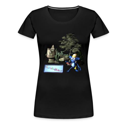unwichtiger Wichtel - Frauen Premium T-Shirt