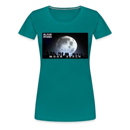 Moon beach - Maglietta Premium da donna