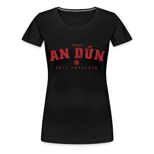down vintage - Women's Premium T-Shirt