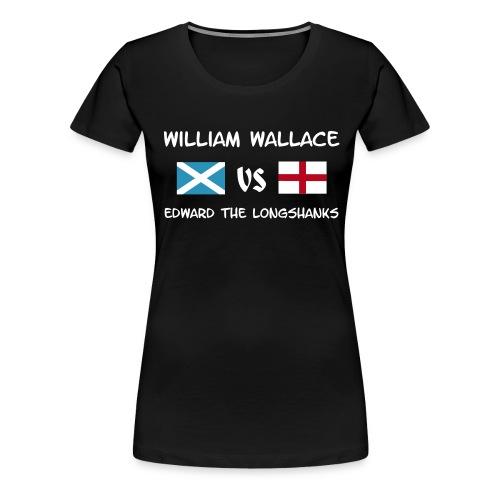 William vs Edward W - Frauen Premium T-Shirt
