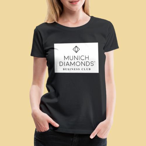 MDBC Logo weiss - Frauen Premium T-Shirt
