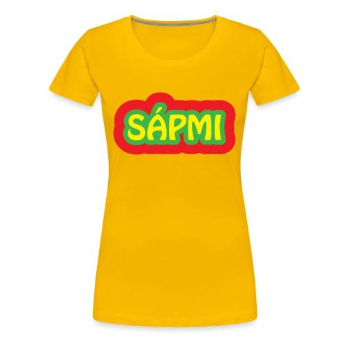 Sápmi - Premium T-skjorte for kvinner