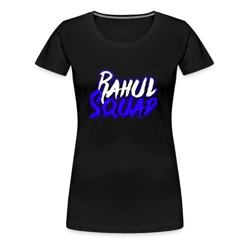Rahul Squad Official Merchandise - Women's Premium T-Shirt